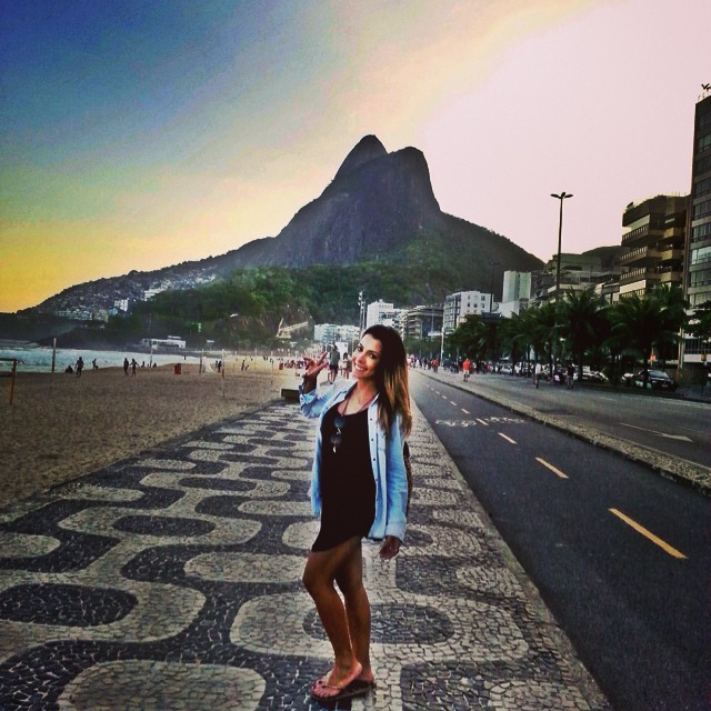 That view✨ Domingo abençoado ? Goodnight!  #rio #amo #family #vmviaja #doisirmaos #ipanema