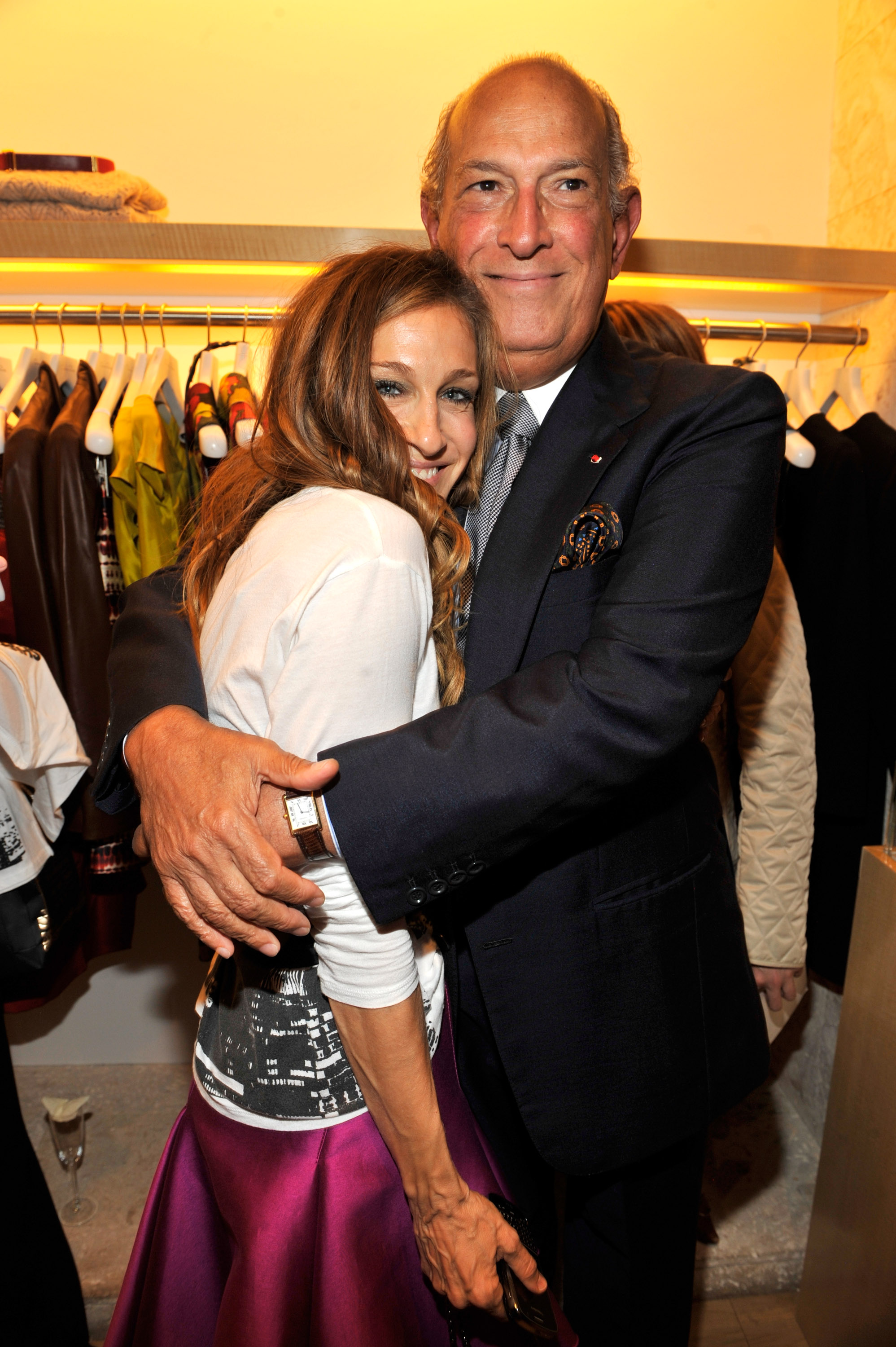 Oscar de la Renta FNO Party Co-Hosted by Barbara Walters & Bette Midler