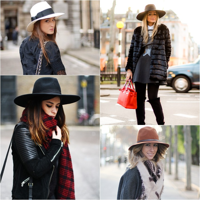 hat fedora winter